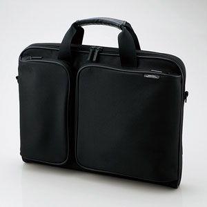 エレコム 14.1〜16.4型用パソコンバッグ(ブラック) ZSB-BM005NBK 返品種別A|joshin