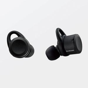 エレコム 完全ワイヤレス Bluetoothイヤホン(ブラック) for iPhone LBT-TWS01MPBK 返品種別A|joshin
