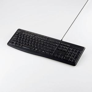 エレコム 有線 静音 フルキーボード 日本語109キー配列 ELECOM TK-FCM090SBK 返品種別A|joshin