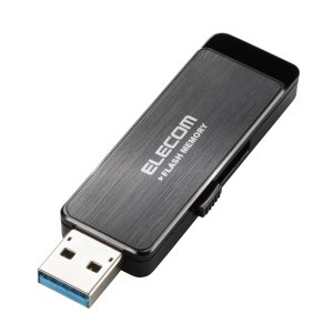 エレコム USB3.0対応 ハードウェア暗号化USBメモリ 8GB MF-ENU3A08GBK 返品...