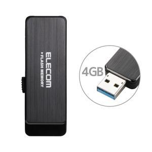 エレコム USB3.0対応 ハードウェア暗号化USBメモリ 4GB MF-ENU3A04GBK 返品...