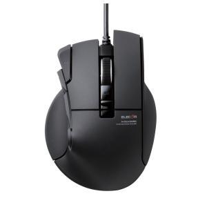 """エレコム USB有線光学式 10ボタン MMOゲーミングマウス(ブラック) """"DUX""""(ドゥクス) M-DUX30BK 返品種別A"""