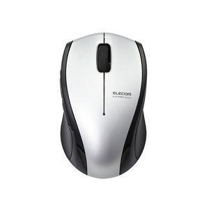 エレコム 静音Bluetoothマウス BlueLED 5ボタン Sサイズ(シルバー) M-BT16...