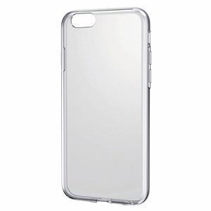 エレコム iPhone 6s用ハイブリッドケース(クリア×クリア) PM-A15HVCCR 返品種別A|joshin