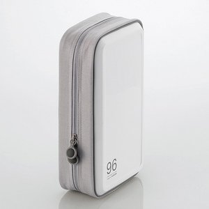 エレコム CD/ DVDファスナーケース 96枚収納(ホワイト) CCD-H96WH 返品種別A