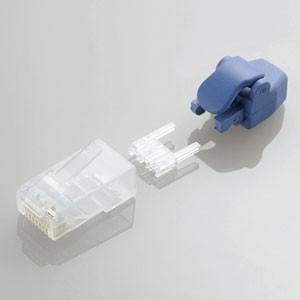 エレコム プロテクタ付きツメの折れないLANコネクタ(Cat6) 10個入 LD-6RJ45T10/ TP 返品種別A|joshin