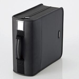 エレコム CD/ DVDファスナーケース 320枚収納(ブラック) CCD-SS320BK 返品種別A
