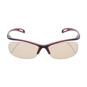 エレコム ブルーライト対策眼鏡 65%カット(リムレスタイプ・ワインレッド) PC GLASSES OG-YBLP01WN 返品種別A|joshin