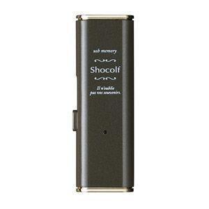 エレコム USB3.0対応 スライド式USBメモリ 16GB(ビターブラウン) Shocolf(ショコルフ) MF-XWU316GBW 返品種別A