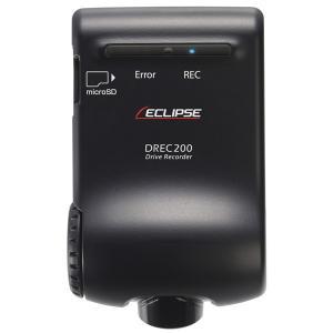 富士通テン カメラ・本体一体型 ドライブレコーダー ECLIPSE DREC200 返品種別A joshin