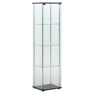 不二貿易 ガラスコレクションケース 4段 TMG-G21 96047 返品種別A|Joshin web