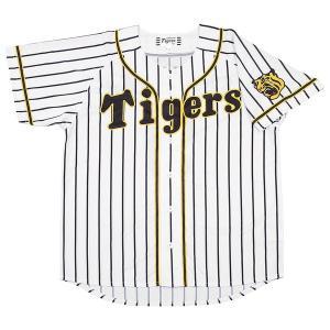 ミズノ 阪神タイガース公認 プリントユニフォーム(ホーム)番号なし (Mサイズ) HANSHIN Tigers Print Uniforms HOME 12JRMT8400M 返品種別A|joshin