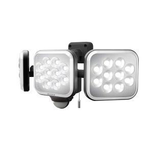 ムサシ LEDセンサーライト(12W×3灯) RITEX LED-AC3036 返品種別A|joshin