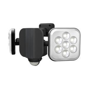 ムサシ LEDセンサーライト(8W×2灯) RITEX LED-AC2016 返品種別A joshin