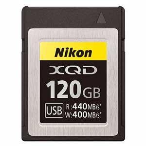ニコン XQDメモリーカード 120GB MCXQD120G 返品種別A|joshin