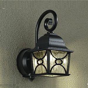 ダイコー LEDポーチライト(人感センサー付)(電気工事専用) DAIKO DWP-38349Y 返...