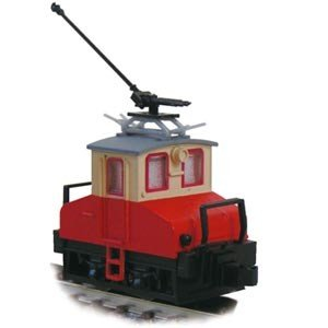 津川洋行 銚子電気鉄道 デキ3 電気機関車(90周年トロリーポール仕様)車体色:赤電色 14045の商品画像|ナビ