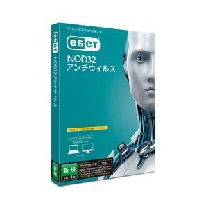 キヤノンITソリューションズ ESET NOD32アンチウイルス 1年1台 ※パッケージ版 返品種別B|joshin