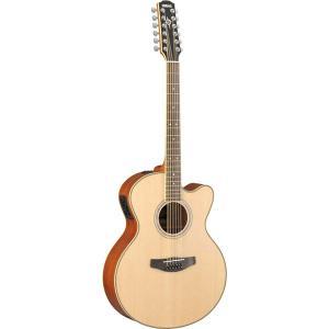 ヤマハ エレクトリックアコースティックギター 12弦タイプ ナチュラル YAMAHA CPX700II-12 CPX700-2-12NT 返品種別A|joshin