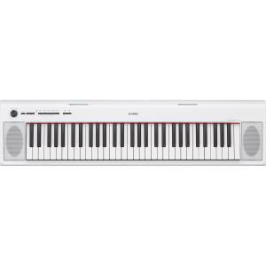 ヤマハ 61鍵キーボード(ホワイト) YAMAHA piaggero(ピアジェーロ) NP-12WH 返品種別A joshin