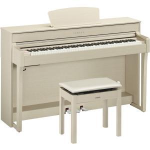 ヤマハ 電子ピアノ(ホワイトアッシュ調)(高低自在椅子&ヘッドホン&ソングブック付き) YAMAHA...