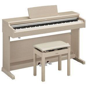 ヤマハ 電子ピアノ(ホワイトアッシュ調仕上げ)(高低自在椅子&ヘッドホン&ソングブック付き) YAM...
