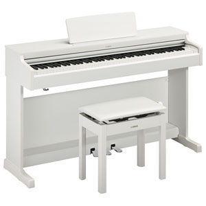 ヤマハ 電子ピアノ(ホワイトウッド調仕上げ)(高低自在椅子&ヘッドホン&ソングブック付き) YAMAHA ARIUS(アリウス) YDP-164WH 返品種別A Joshin web