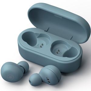 ヤマハ 完全ワイヤレス Bluetoothイヤホン(スモーキーブルー) YAMAHA TW-E3AA...