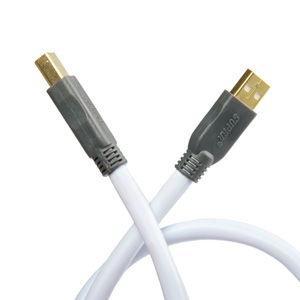 スープラ オーディオグレードUSBケーブル(2.0m)(A)タイプ⇔(B)タイプ SUPRA USB2.0 2.0 返品種別A|joshin