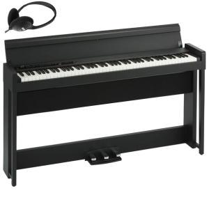コルグ 電子ピアノ(ブラック) KORG C1 Air C1-AIR-BK 返品種別A joshin