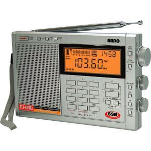 アンドー ワイドFM PLLシンセサイザーラジオ PL7-468SL 返品種別A