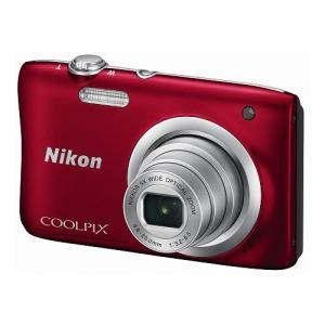 ニコン デジタルカメラ「COOLPIX A100」(レッド) A100RD 返品種別A|joshin