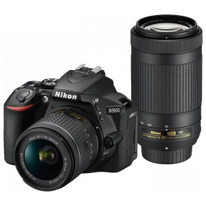 ニコン デジタル一眼レフカメラ「D5600」ダブルズームキット D5600WZ 返品種別A