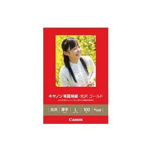 キヤノン キヤノン写真用紙・光沢 ゴールド L判 100枚 GL-101L100 返品種別A joshin