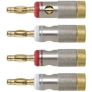 オーディオテクニカ ソルダーレスバナナプラグ(4個1組) audio-technica AT-6303 返品種別A joshin