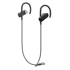 3694d89646a981 オーディオテクニカ Bluetooth対応 スポーツワイヤレスイヤホン(グラファイトブラック) audio-technica ATH-SPORT50BT  BK 返品種別A