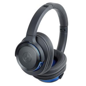 オーディオテクニカ Bluetooth対応ワイヤレスヘッドホン(ガンメタリックブルー) audio-technica ATH-WS660BT GBL 返品種別A|joshin