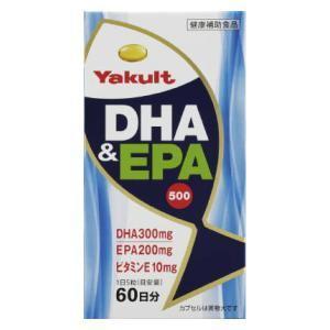 DHA&EPA500(300粒) ヤクルトヘルスフーズ DHA&EPA500 300ツブ 返品種別B|joshin