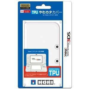 ホリ (New3DS)TPUやわカタカバー for Newニ...