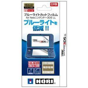 ホリ (New3DS LL)ブルーライトカットフィルム fo...