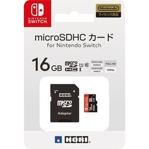 ホリ (Nintendo Switch)マイクロSDカード 16GB for Nintendo Sw...