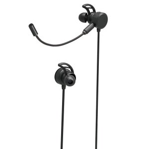 在庫状況:在庫僅少/装着感と臨場感のあるクリアな音質を追求したアームマイク付きゲーミングイヤホン。