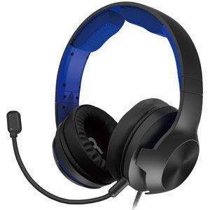ホリ (PS4)ホリゲーミングヘッドセット ハイグレード for PlayStation4 ブルー ...