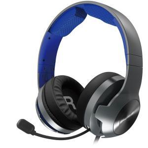 ホリ (PS4)ホリゲーミングヘッドセット プロ for PlayStation4 ブルー 返品種別...