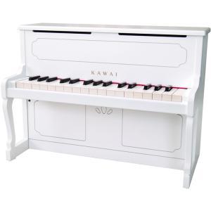 カワイ ミニピアノ(ホワイト) KAWAI アップライトピアノタイプ 1152 返品種別A