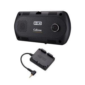セルスター ツインカメラ搭載 ドライブレコーダー + GPSユニットセット CELLSTAR CSD-390HDGPS 返品種別A joshin