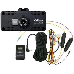 セルスター ドライブレコーダー + 常時電源コードセット CELLSTAR CSD-600FHR 10 返品種別A|joshin