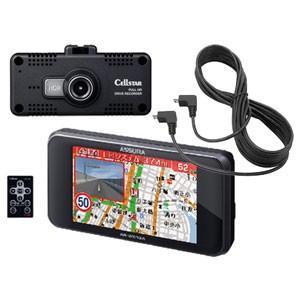 セルスター GPS内蔵 レーダー探知機 + ドライブレコーダ...
