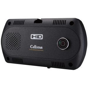 セルスター ツインカメラ搭載 ドライブレコーダー CELLSTAR CSD-390HD 返品種別A joshin