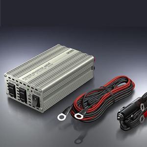 在庫状況:在庫僅少/◆クルマの中で家電が使えるパワーインバーター◆定格出力AC100V、最大消費電力...